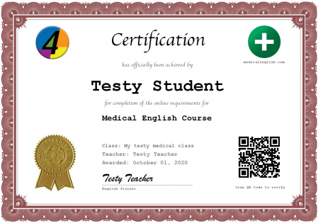 online English teaching certificate for students